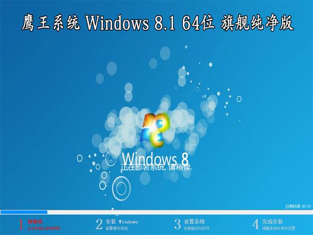【鹰王系统】 Windows 8.1 专业版 64位(纯净版)