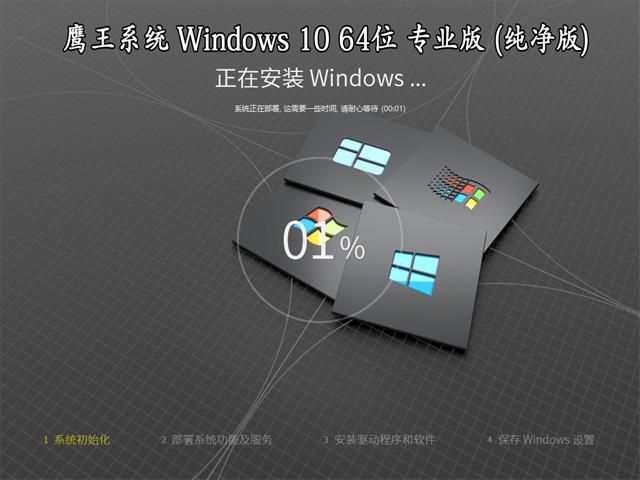 【鹰王系统】 Windows 10 64位 20H2 专业版(纯净版)